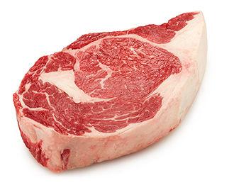 Rib eye stek