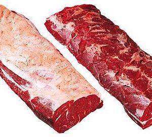 Striploin beef