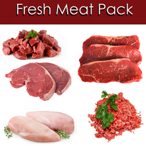 fresh meat pack